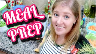 MEAL PREP WITH ME | MAKING DOG FOOD & PREPPING PRODUCE