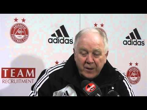 Aberdeen - Craig Brown Pre-match v Hearts, 28/03/2013