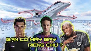 Máy bay riêng siêu khủng của top 10 ngôi sao bóng đá nổi tiếng thế giới.