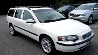 2001 Volvo V70 2.4T Walkaround, Start up, Exhuast, Tour and Overview