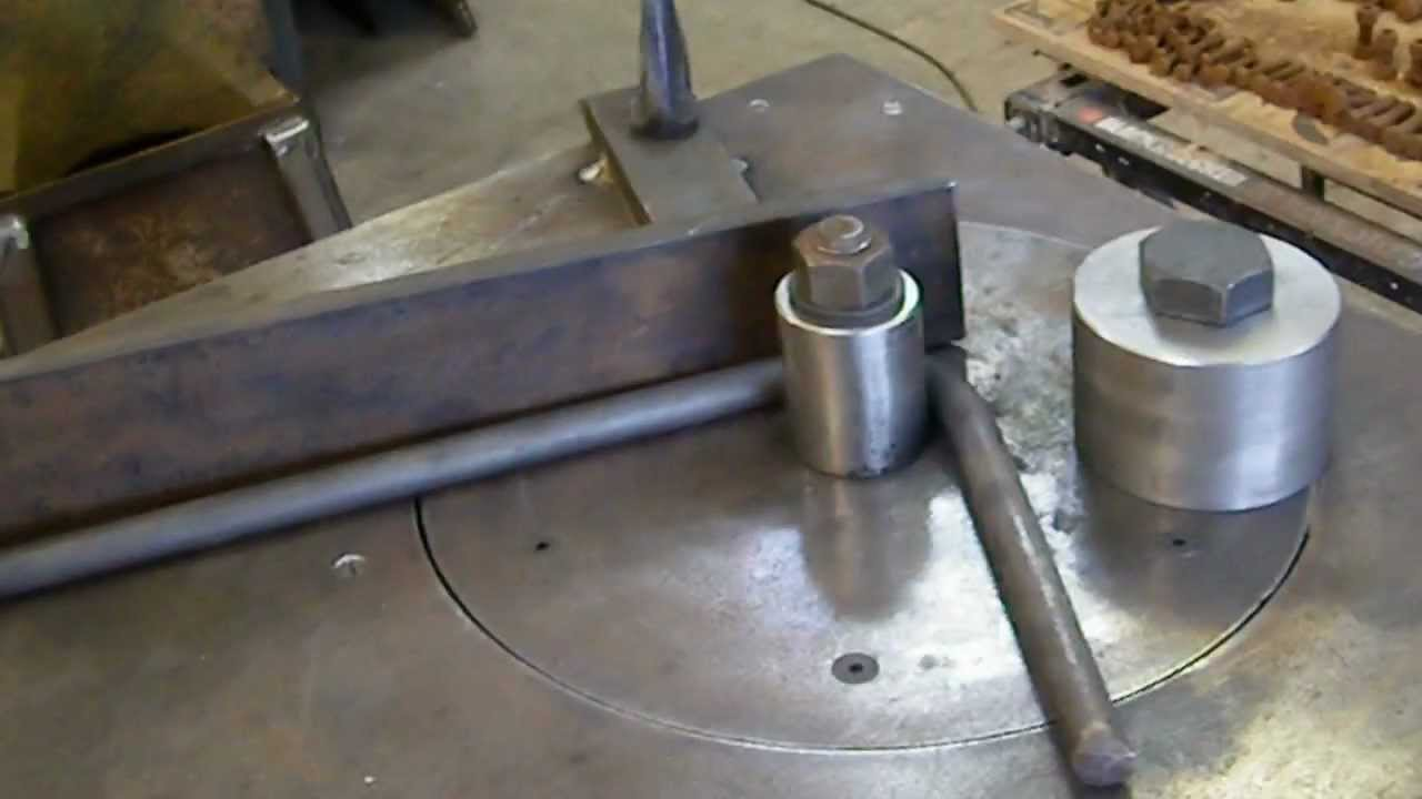 Sjwyaw Home Made Metal Bender Youtube