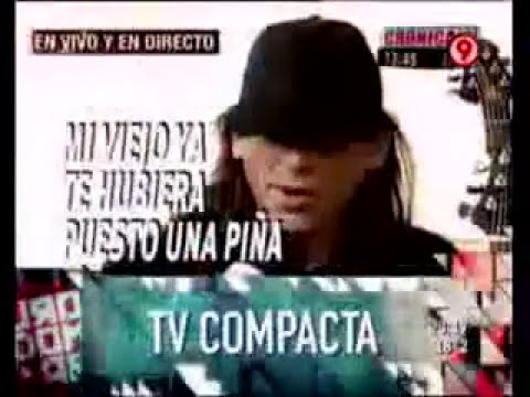 Luciano Napolitano - Entrevista Cronica