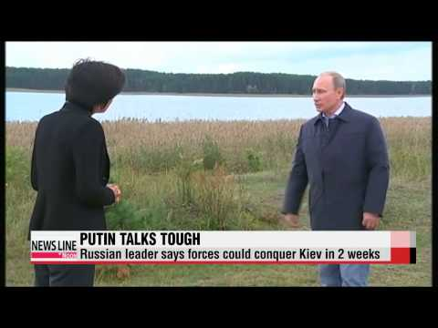 "Putin says Russian forces could conquer Kiev in 2 weeks   푸틴 ""우크라 2주내 접수할 수 있다"""