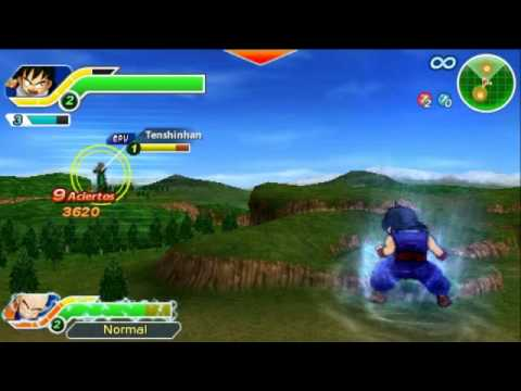 [psp] Dragon Ball Z Tenkaichi Tag Team [eur-esp] Episodio Especial 1: Gohan Y Rey Demonio Piccolo video