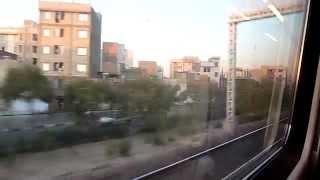 video The outskirts of Tehran, filmed from the direct Tehran to Yazd train. Blogpost: reisrelaas.nl/iran-treinreis-teheran-yazd/