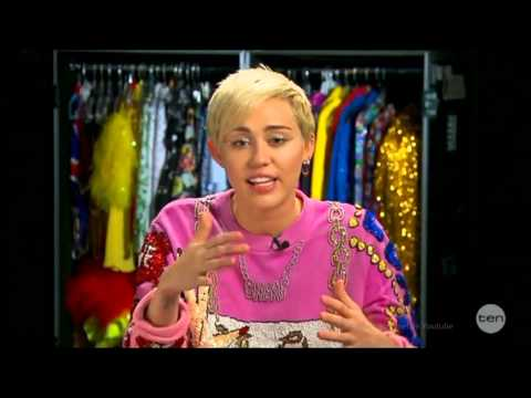Miley Cyrus - First LIVE Australian Tv Interview in Full Oct.10, 2014