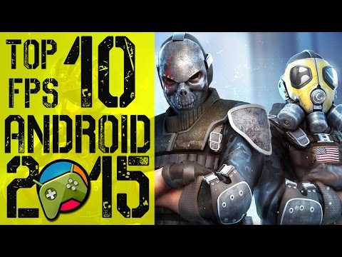 Top 10 Best FPS Android Games 2015 HD