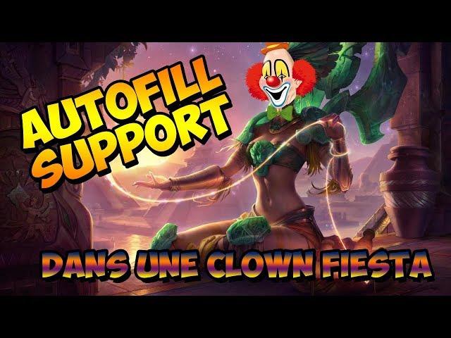 Autofill support dans une clown fiesta en D5 [FR] [Diamant]