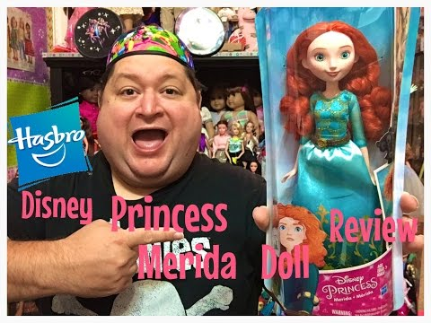*Brand New* Hasbro Disney Princess Merida Doll Review✨