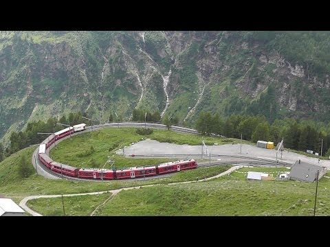 Rhätische Bahn 2013 | Teil 2: Berninabahn