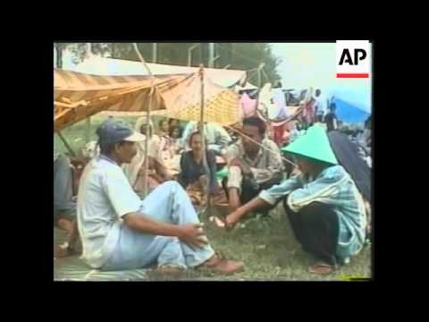 INDONESIA: REFUGEES FROM TROUBLED ACEH PROVINCE