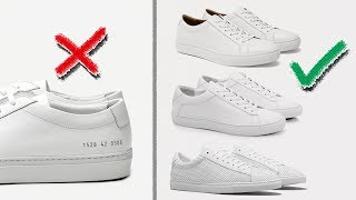 3 SNEAKERS THAT BEAT COMMON PROJECTS ACHILLES LOW | Affordable Mens Fashion | StyleOnDeck