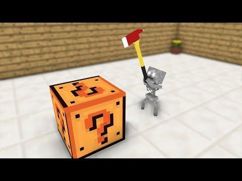 Kids Monster School: Mistery Box - Kids Minecraft Animation
