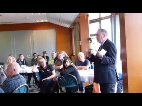 Alex Salmond Q&A in Orkney