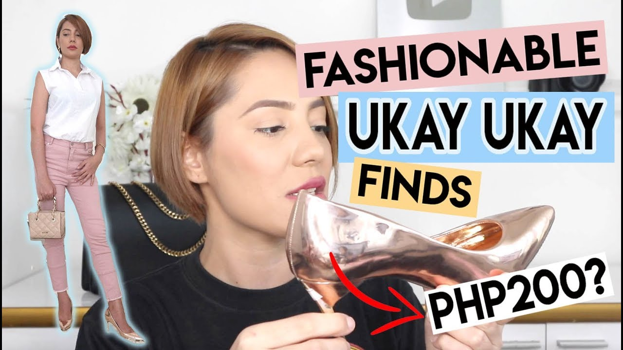 MGA BONGGANG CUBAO UKAY UKAY FINDS AT FASHIONABLE UKAY UKAY TRY ON HAUL!
