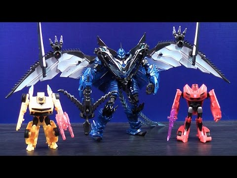 TRANSFORMERS 4 AGE OF EXTINCTION WALMART EXCLUSIVE ... Transformers 4 Bumblebee Vs Stinger