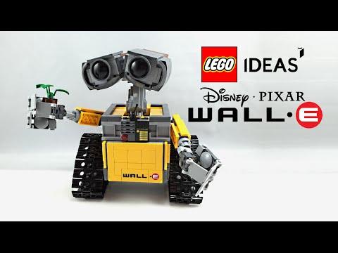 LEGO WALL-E set review! 21303