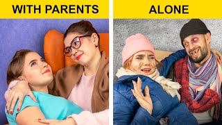 Living with Parents vs Alone / Relatable Facts