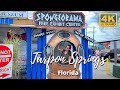 Tarpon Springs FL 4k Sponge Docks   Greek Island of the United States