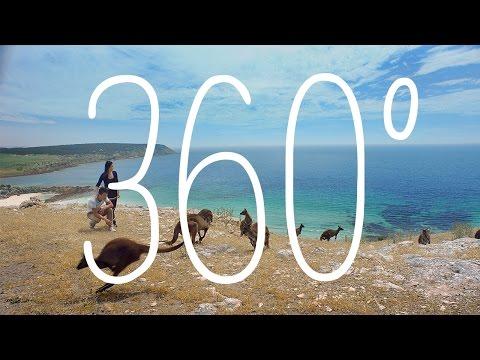 360: Stokes Bay, Kangaroo Island, South Australia, Australia