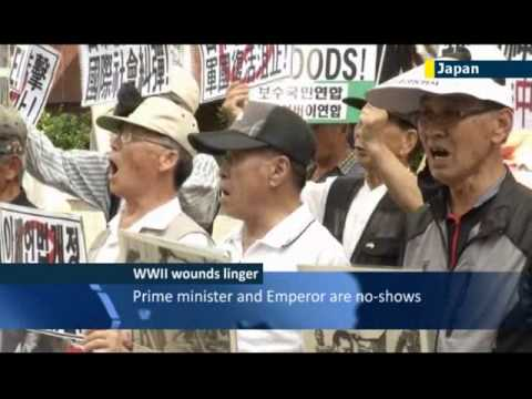 Japan and the ghosts of WWII: right-wing Japanese politicians visit controversial war dead shrine