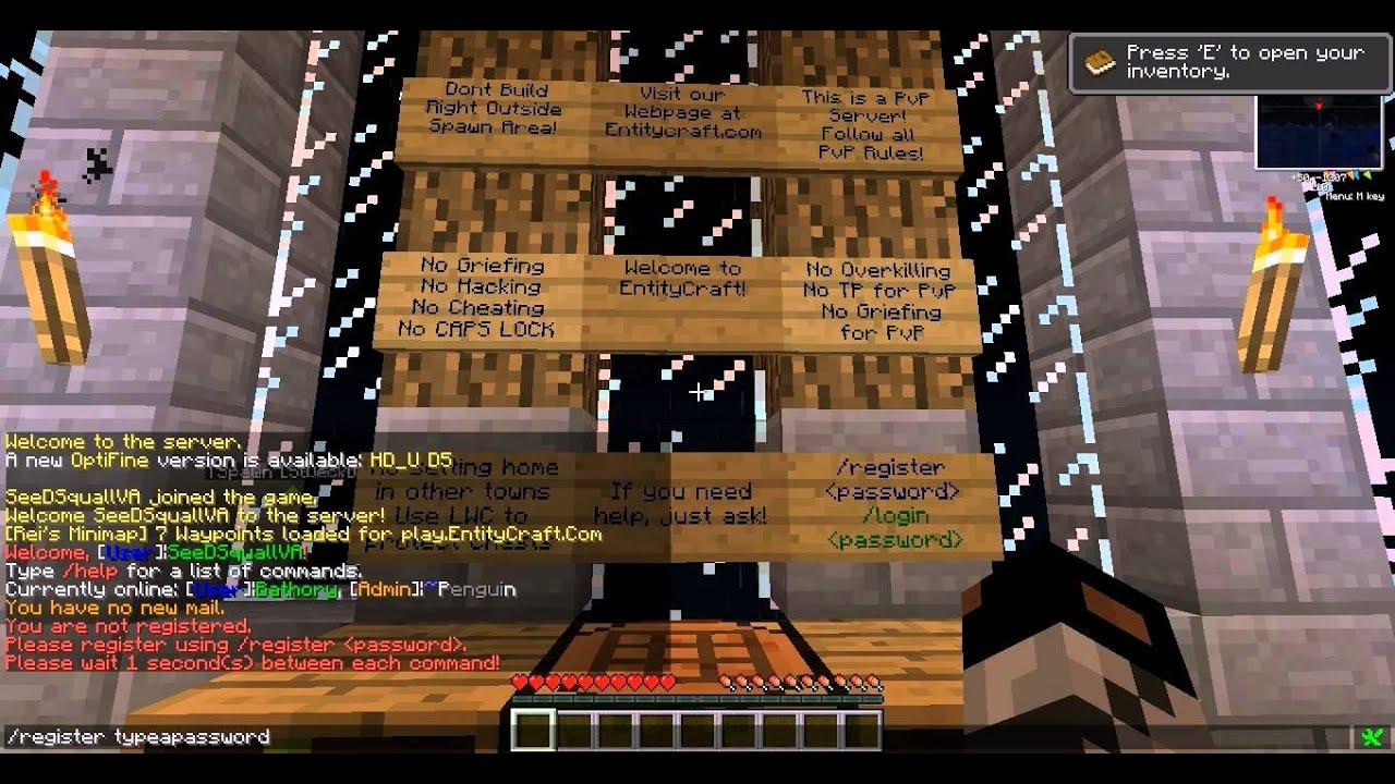 MAERA.SE ::.. Minecraft Server