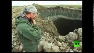 الحيرة تصيب العلماء بسبب فتحة عملاقة في سطح الأرض بسيبيريا