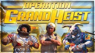 Black Ops 4 1.13 Update - Operation Grand Heist & Content Roadmap