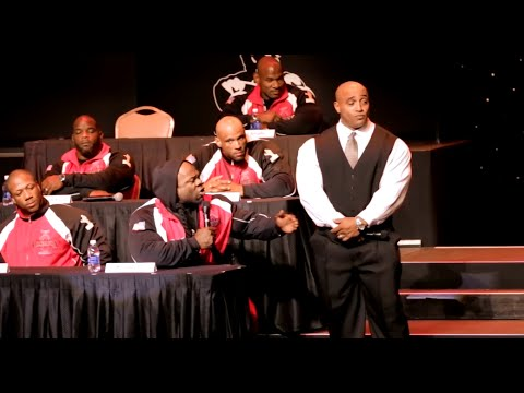 Kai Greene Vs Phil Heath at Olympia 2014 Press Conference | Generation Iron