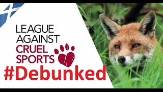 League Against Cruel Sports #debunked