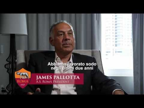 President Pallotta discusses the future of AS Roma