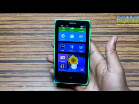 NOKIA X Unboxing & Hands on Review- Nokia's 1st Android!