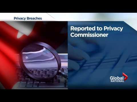 Canada Revenue Agency privacy breaches