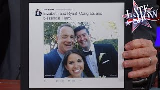 Tom Hanks Shocked A Newlywed Couple In Central Park