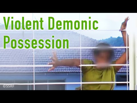 Violent Demonic Possession video