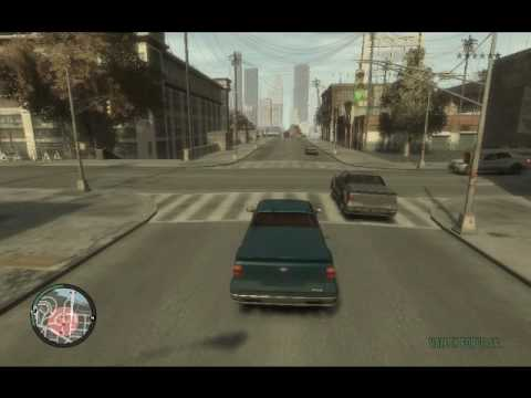 GTA IV choques, accidentes, chorradas ect...