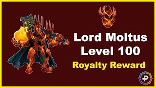 Monster Legends - Lord Moltus Level 100 Loyalty Reward Combat + Review