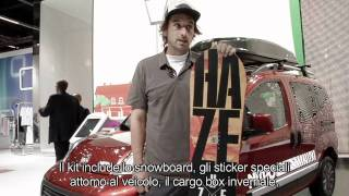 Fiat Qubo NITRO @ Frankfurt Motor Show 2011: interview with Andy Aurhammer