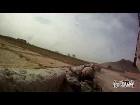 Afghanistan War - Canadian Army - Taliban Ambush - Helmet Cam [HD]