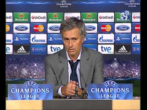 Real Madrid 3-2 Manchester City: Mourinho's press conference