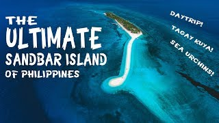 Kalanggaman Island // THE MOST BEAUTIFUL In Leyte Philippines