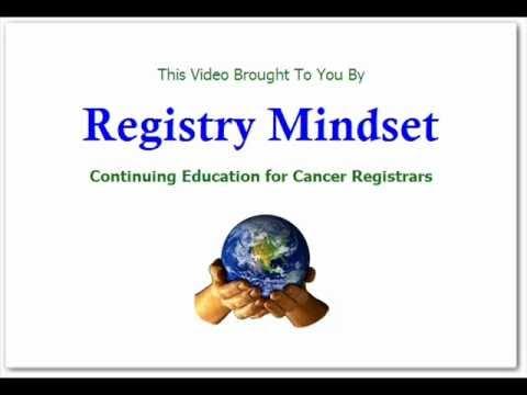 Cancer Registrar Challenge Assumptions