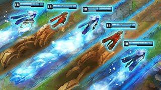 BUILDING THE ULTIMATE WALL - Best Terrain Blocks - League of Legends Montage