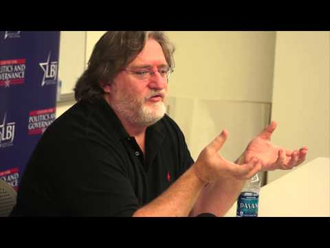 Gabe Newell: Reflections of a Video Game Maker