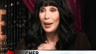 AP - Cher and Christina Aguilera go Burlesque (2010)