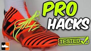PRO Footballer Hacks!! Professional Tricks Tested