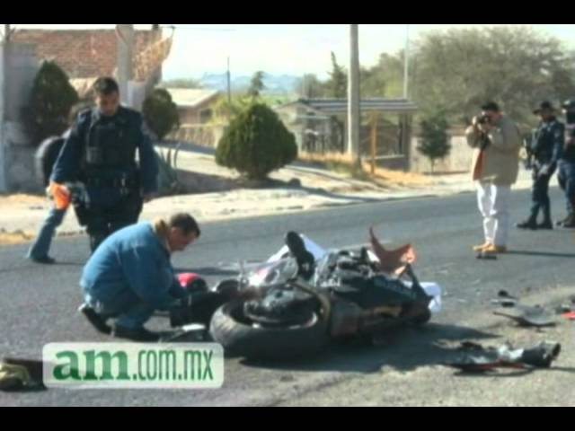 Muere en accidente motociclista