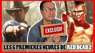 RED DEAD REDEMPTION 2 : Indiens, Crafting, Cuisine, nos 6h de gameplay ! [EXCLU, NO SPOIL]