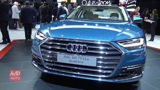 2020 Audi A8L 60 TFSI-e Quattro - Exterior And Interior Walkaround - Debut at Geneva Motor Show 2019