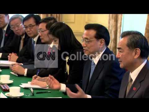 UK: CAMERON MEETS CHINESE PREMIER LI KEQIANG